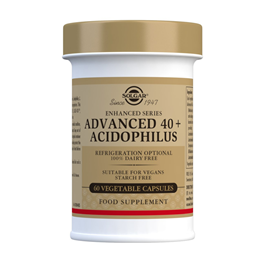 Solgar Advanced 40+ Acidophilus - 60 Vegicaps