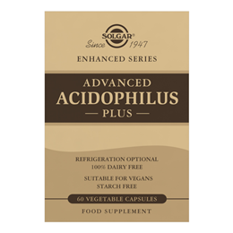 Solgar Advanced Acidophilus Plus - 60 Vegicaps