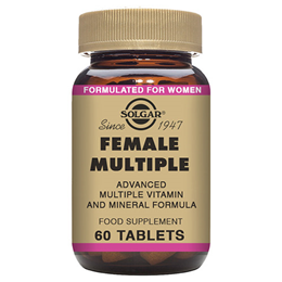 Solgar Female Multiple Vitamin & Mineral - 60 Tablets