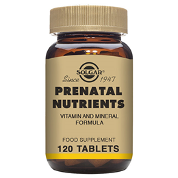 Solgar Prenatal Multi-Vitamin and Mineral Nutrient - 120 Tablets