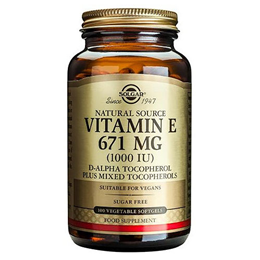Solgar Vitamin E 671mg - 100 x 1000iu Vegetable Softgels