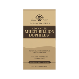 Solgar Advanced Multi-Billion Dophilus (Non-Dairy) - 120 Vegicaps
