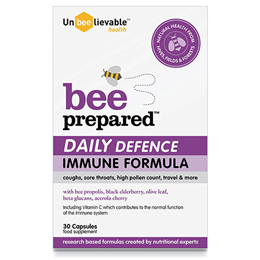 UnBEElievable Health Bee Prepared - Daily Defence Immune Support - 30 Capsules