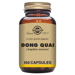 Solgar Dong Quai - Food Supplement - 100 Vegicaps