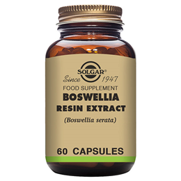 Solgar Boswellia Resin Extract - Full Potency - 60 Vegicaps