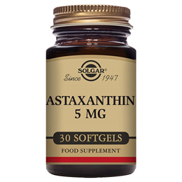 Solgar Astaxanthin - Antioxidant Protection - 30 x 5mg Softgels