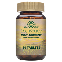 Solgar Earth Source Multi Nutrient - Whole Food - 180 Tablets