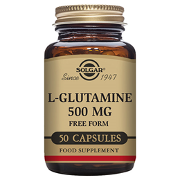 Solgar L-Glutamine - 50 x 500mg Vegicaps