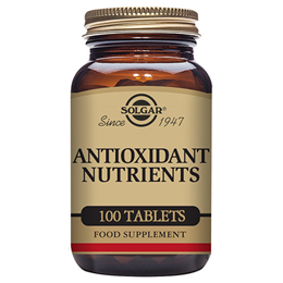 Solgar Antioxidant Nutrients - 100 Tablets
