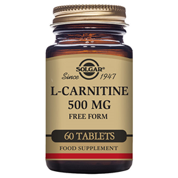 Solgar L-Carnitine - Amino Acid - 60 x 500mg Tablets