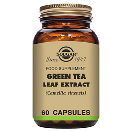 Solgar Green Tea Leaf Extract - Food Supplement - 60 Vegicaps