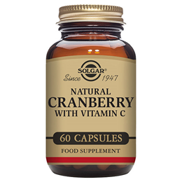 Solgar Natural Cranberry with Vitamin C - 60 Vegicaps