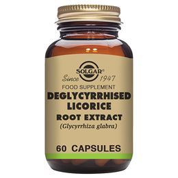 Solgar Deglycyrrhised Licorice Root Extract - 60 Vegicaps