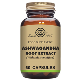 Solgar Ashwagandha Root Extract - Food Supplement - 60 Vegicaps