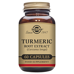 Solgar Turmeric Root Extract - Food Supplement - 60 Vegicaps