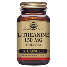 Solgar L-Theanine - Amino Acid - Brain - 60 x 150mg Vegicaps