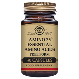 Solgar Amino 75 - Containing Essential Amino Acids - 30 Vegicaps