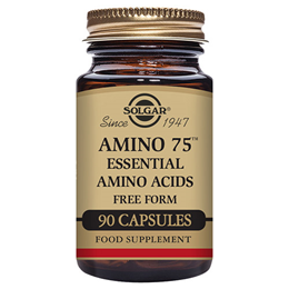 Solgar Amino 75 - Containing Essential Amino Acids - 90 Vegicaps