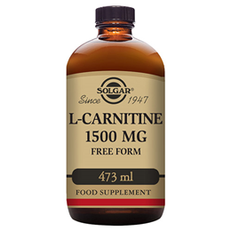 Solgar L-Carnitine - Natural Lemon Flavour - 1500mg x 473ml Liquid