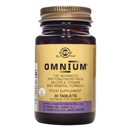 Solgar Omnium - Multiple Vitamin and Mineral Formula - 30 Tablets
