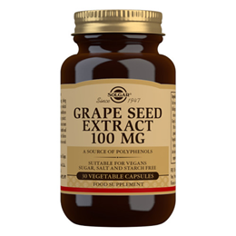Solgar Grape Seed Extract - 30 x 100mg Vegicaps