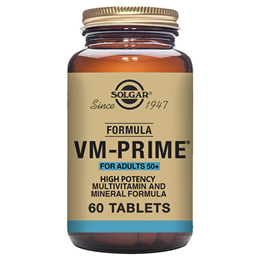 Solgar VM Prime - High Potency Vitamins & Minerals - 60 Tablets