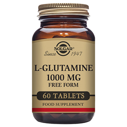 Solgar L-Glutamine - Promotes Optimal Absorption - 60 x 1000mg Tablets