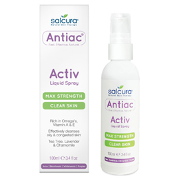 Salcura Antiac - Activ Liquid Spray - Max Strength - 100ml