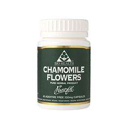 Bio Health Chamomile Flowers - 60 x 250mg  Vegicaps