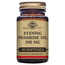 Solgar Evening Primrose Oil - Cold Pressed - 30 x 500mg Softgels