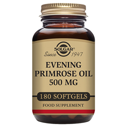 Solgar Evening Primrose Oil - Cold Pressed - 180 x 500mg Softgels