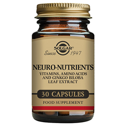 Solgar Neuro Nutrients - Vitamins & Amino Acids - 30 Vegicaps