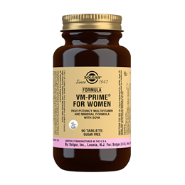 Solgar VM - Prime For Women - Multivitamin & Mineral  - 90 Tablets