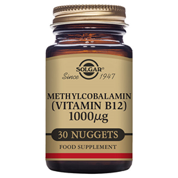 Solgar Methylcobalamin - Vitamin B12 - 30 x 1000mcg Nuggets