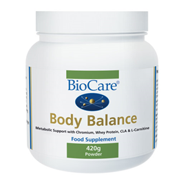 BioCare Body Balance -Metabolic Support with Whey Protein -420g Powder