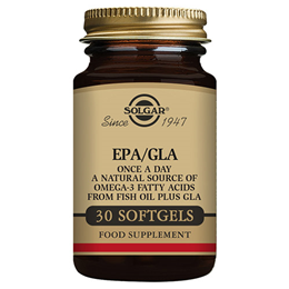 Solgar EPA/GLA - Omega 3 Fatty Acids from Fish Oil - 30 Softgels