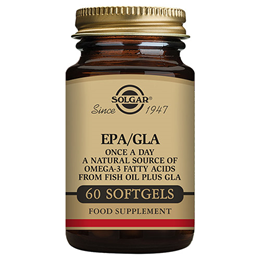 Solgar EPA/GLA - Omega 3 Fatty Acids from Fish Oil - 60 Softgels
