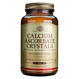 Solgar Calcium Ascorbate Crystals - Buffered Vitamin C - 250g Powder