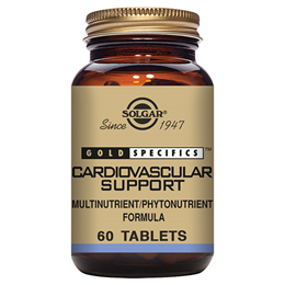 Solgar Gold Specifics Cardiovascular Support - 60 Tablets