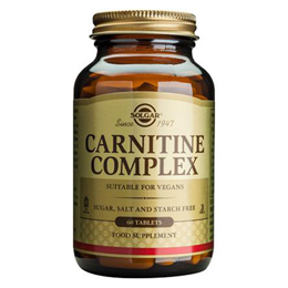 Solgar Carnitine Complex - Healthy Heart - 60 Tablets