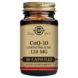 Solgar CoQ10 - Coenzyme Q10 - Energy Production - 30 x 120mg Vegicaps