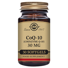Solgar CoQ10 - Coenzyme Q10 - Energy Production - 30 x 30mg Softgels