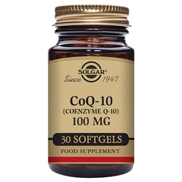 Solgar CoQ10 - Coenzyme Q10 - Energy Production - 30 x 100mg Softgels