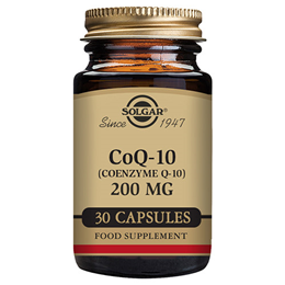 Solgar CoQ10 - Coenzyme Q10 - Energy Production - 30 x 200mg Vegicaps