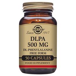 Solgar DLPA DL-Phenylalanine - Amino Acid - 50 x 500mg Vegicaps