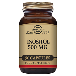 Solgar Inositol - Cell Function - Vitamin B - 50 x 500mg Vegicaps