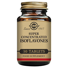 Solgar Isoflavones - Super Concentrated - Women`s Health - 30 Tablets