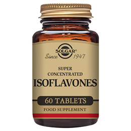 Solgar Isoflavones - Super Concentrated - Women`s Health - 60 Tablets