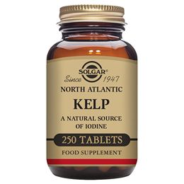 Solgar North Atlantic Kelp - Natural Source of Iodine - 250 Tablets