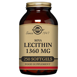 Solgar Lecithin - Phospholipids - 250 x 1360mg Softgels